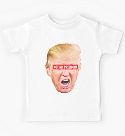 Not My President Kids Tee