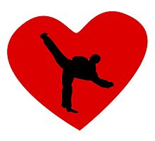 Karate Kick Heart by kwg2200
