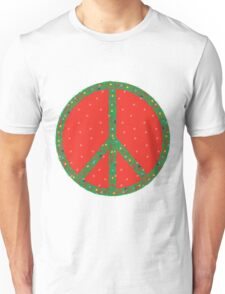 Peace on Earth - even in the Snow! Unisex T-Shirt