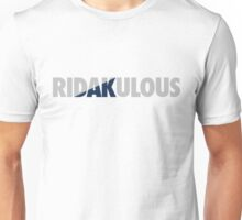 RiDAKulous (Silver/Blue Split) Unisex T-Shirt