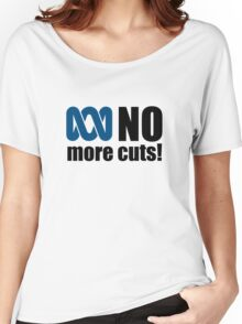 No more cuts! Women's Relaxed Fit T-Shirt