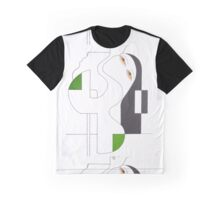 The Japanese Crane on a fashion way Graphic T-Shirt