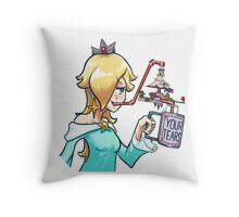 Rosalina drinks Throw Pillow