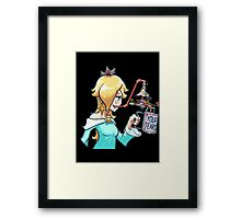 Rosalina drinks Framed Print