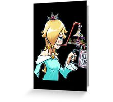 Rosalina drinks Greeting Card