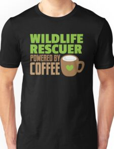 Wildlife rescuer powered by coffee Unisex T-Shirt