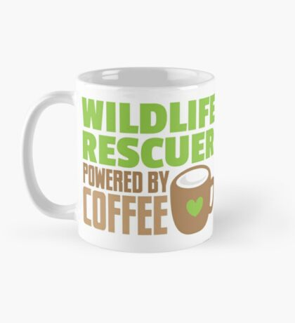 Wildlife rescuer powered by coffee Mug