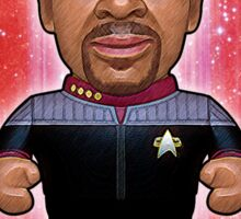 Sisko - Star Trek Caricature Sticker