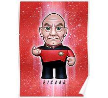 Picard - Star Trek Caricature Poster