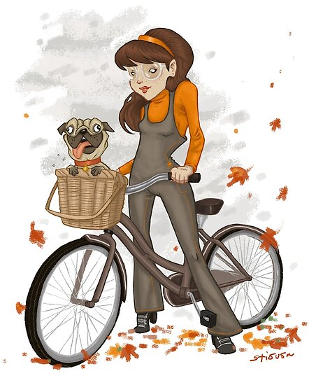 Autumn ride by Stieven Van der Poorten