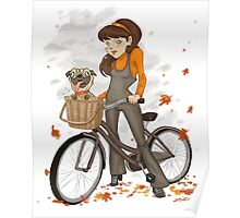 Autumn ride Poster