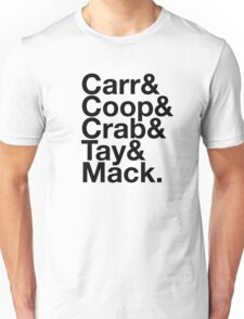 Oakland Raiders Squad T-shirt Unisex T-Shirt