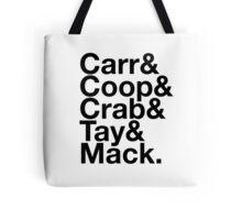 Oakland Raiders Squad T-shirt Tote Bag