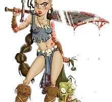Barbarian Girl by Stieven Van der Poorten