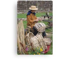 Basker Weaver Canvas Print