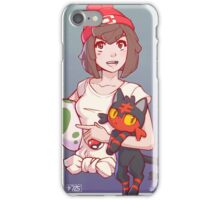 Pokemon Sun/Moon Trainer iPhone Case/Skin