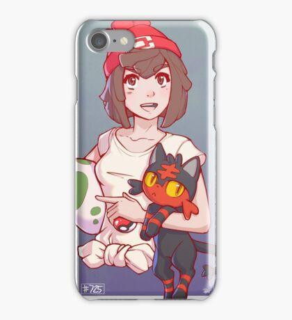 Pokemon Sun/Moon Trainer iPhone Case/Skin