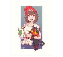 Pokemon Sun/Moon Trainer Art Print