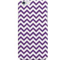 Lavender Chevron Pattern iPhone Case/Skin