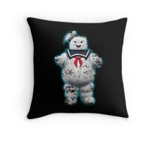 Vintage Stay Puft Marshmallow Man Throw Pillow