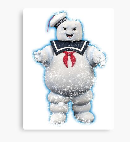 Vintage Stay Puft Marshmallow Man Canvas Print
