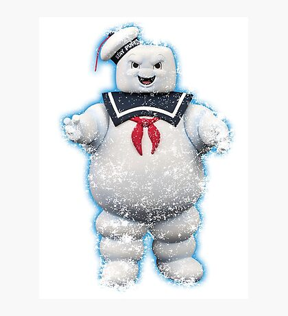 Vintage Stay Puft Marshmallow Man Photographic Print