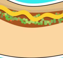 Hot Dog and Relish Sticker