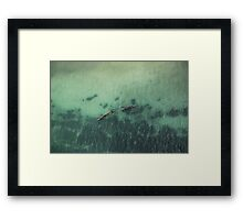MTUMBWI DHOWS Framed Print