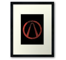 Borderlands - Symbol Framed Print