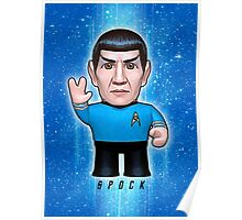 Spock - Star Trek Caricature Poster