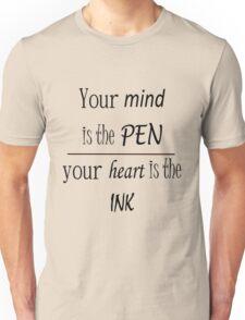 Writing Quote Unisex T-Shirt