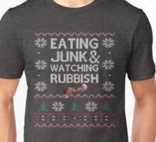 Eating Junk & Watching Rubbish Unisex T-Shirt