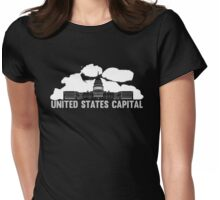 Washington DC Capital Building Womens Fitted T-Shirt