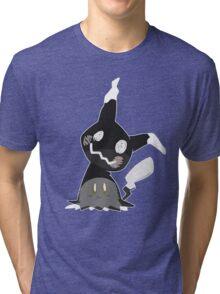 Pokemon Sun / Moon - Happy Mimikyu :) Tri-blend T-Shirt