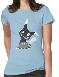Pokemon Sun / Moon - Happy Mimikyu :) Womens Fitted T-Shirt