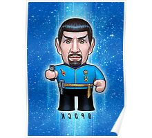 Mirror Spock - Star Trek Caricature Poster