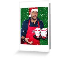 Jeffrey Dean Morgan- Jeffbucks Greeting Card