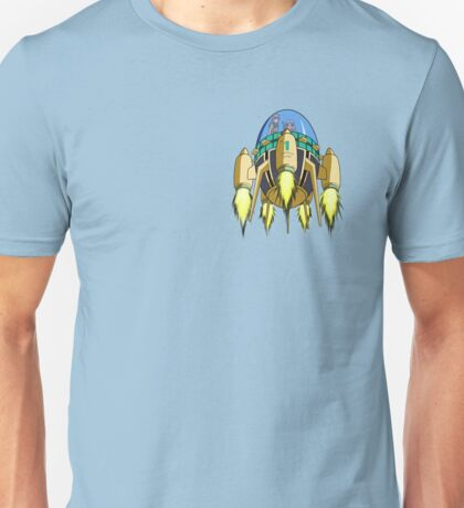 Trunks in the Time Machine Unisex T-Shirt