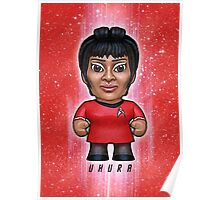 Uhura - Star Trek Caricature Poster