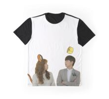 Cheese in the trap - cartoon Graphic T-Shirt