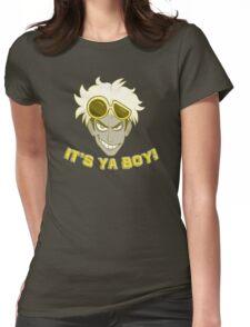 Pokemon Sun and Moon - It's Ya Boy, Guzma Womens Fitted T-Shirt