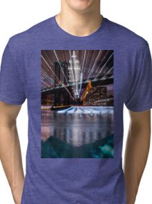 Warp City 1 Tri-blend T-Shirt