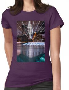 Warp City 1 Womens Fitted T-Shirt
