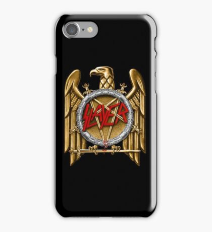 Slayer logo iPhone Case/Skin