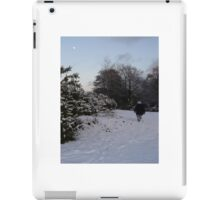 New Forest in the snow iPad Case/Skin