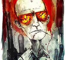 HUNTER S THOMPSON by RighteousBear