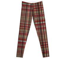 Check in warm colours Leggings