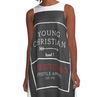 Young Christian A-Line Dress