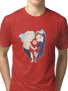 Viktor x Yuri Tri-blend T-Shirt