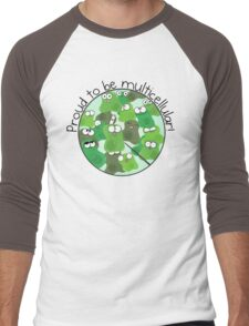 Proud to be Multicellular Men's Baseball ¾ T-Shirt
